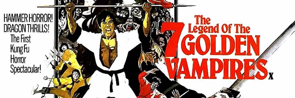 The Legend of the 7 Golden Vampires: Beast Meets West!