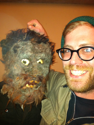 One of these guys is the star of Swamphead.