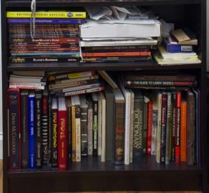Shelf One BOttom Shelf bookshelf-2193