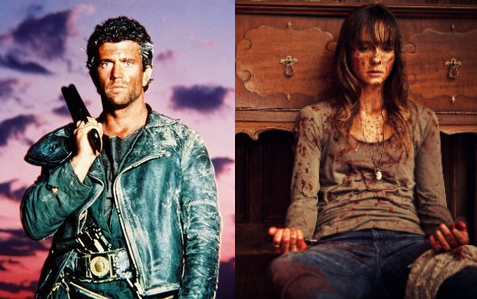 Mel Gibson needs work. You're Next could have used a flashback training montage showing Erin as a teen on the outback with a crazed Gibson as her father training her to kill people.