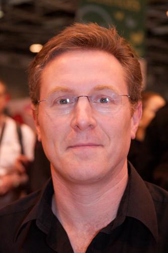 Author James Lovegrove.