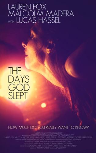THE DAYS GOD SLEPT poster.