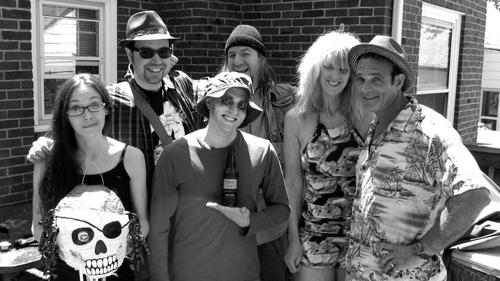 L-R: Erin Neu, Mike Polizzi, Mike Lane, Jay Priole, Monica Barber, and Harry Waldman.