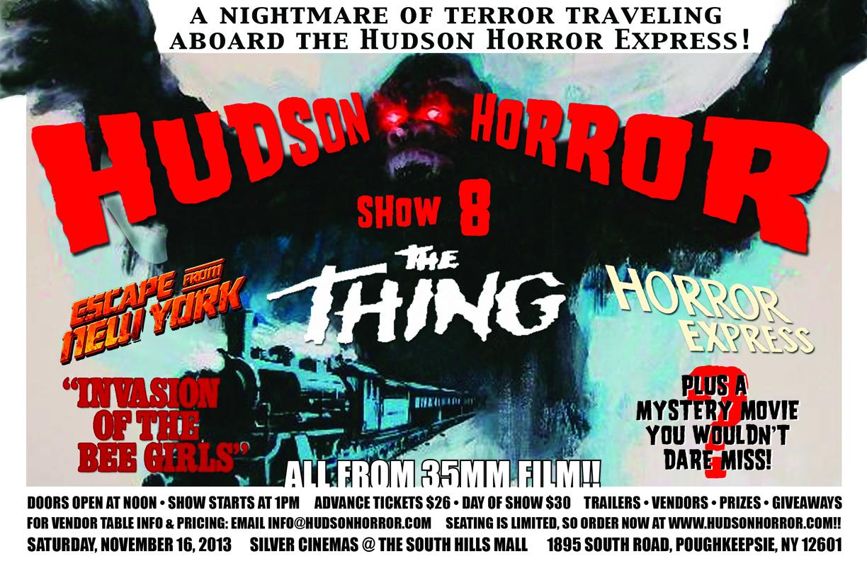 Hudson Horror Show 8 Announced for November 16th