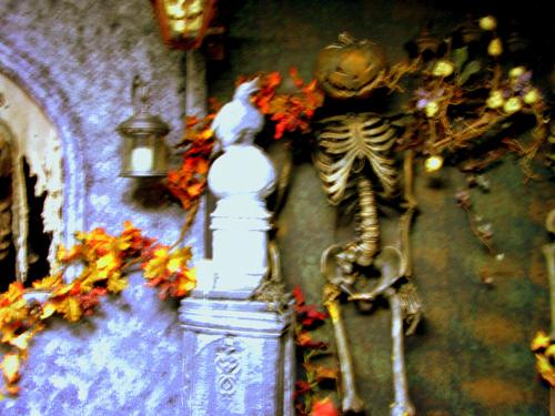 Halloween abound at Castle Blood!