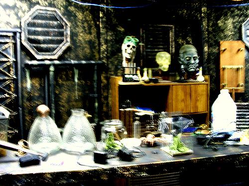 One of Castle Blood's creepy interiors.