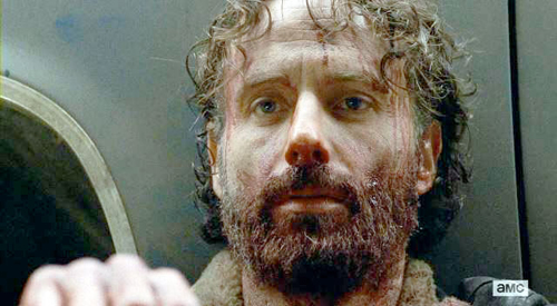 Rick in the season finale.