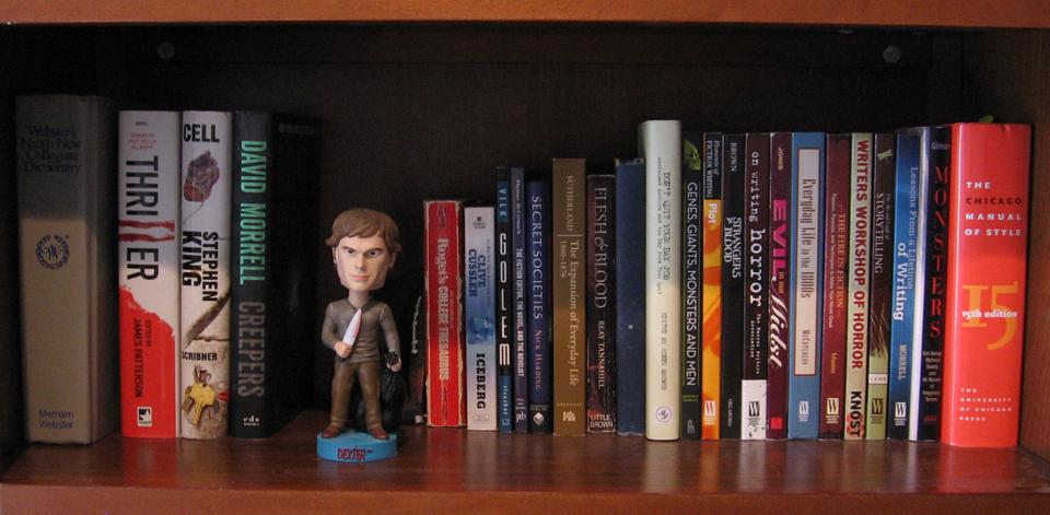 Horror Authors' Bookshelves: Brian Moreland