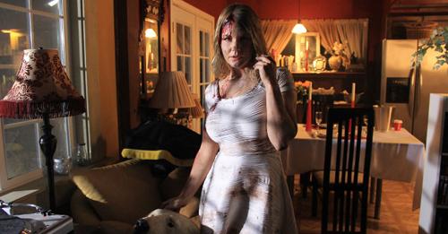 Carrie Keagan in THE FIANCE.