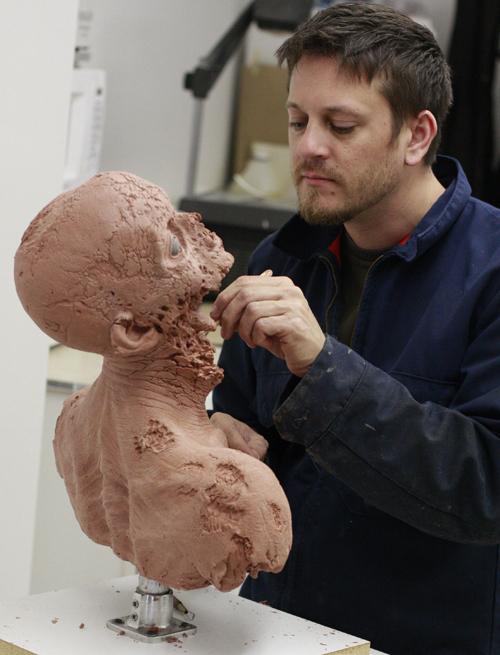Jaremy works on The Walking Dead.