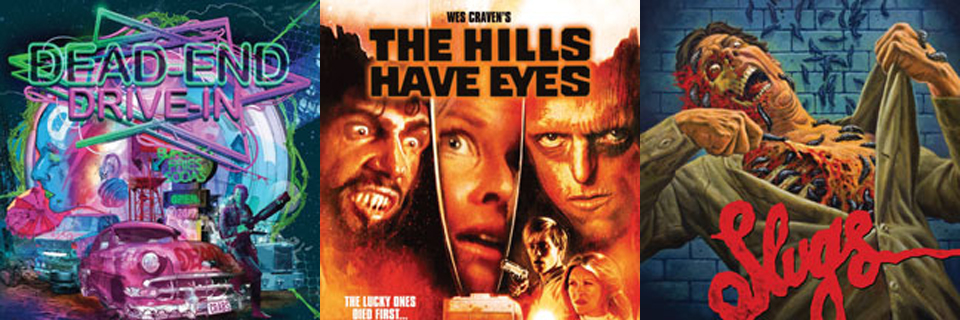 Arrow Video US to Unleash DEAD-END DRIVE-IN, THE HILLS HAVE EYES, and SLUGS to Blu-Ray in September