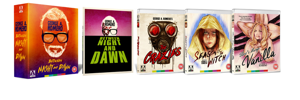 George A. Romero BETWEEN NIGHT AND DAWN Box Set Coming October 24