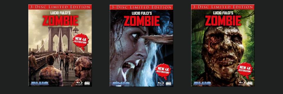 40th Anniversary 4K Restoration of Lucio Fulci's ZOMBIE Coming to Blu-ray